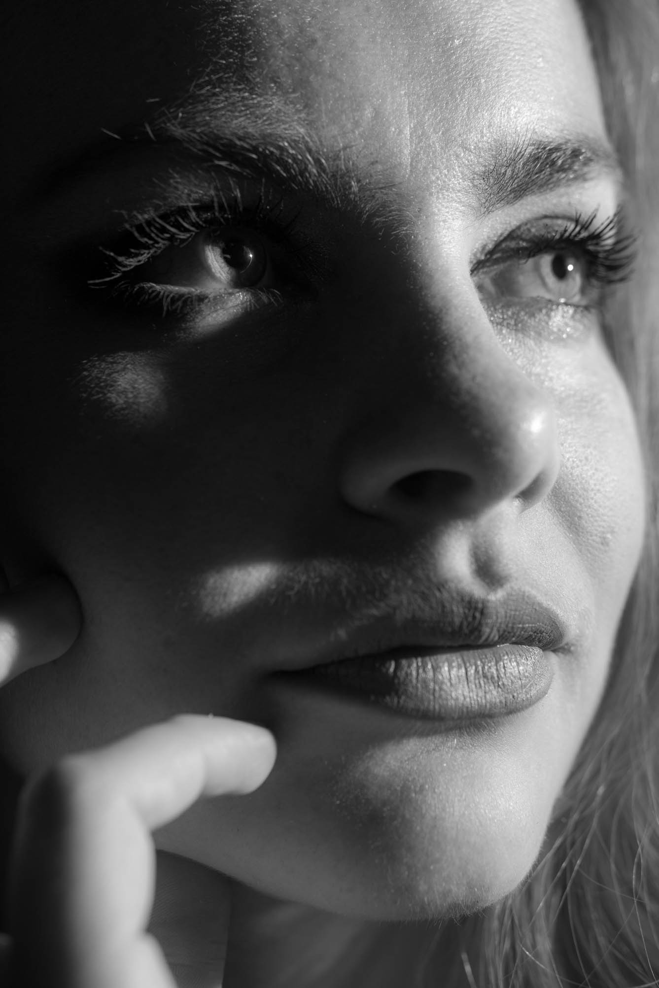 Portrait model (D.Skansi Copyright ©)