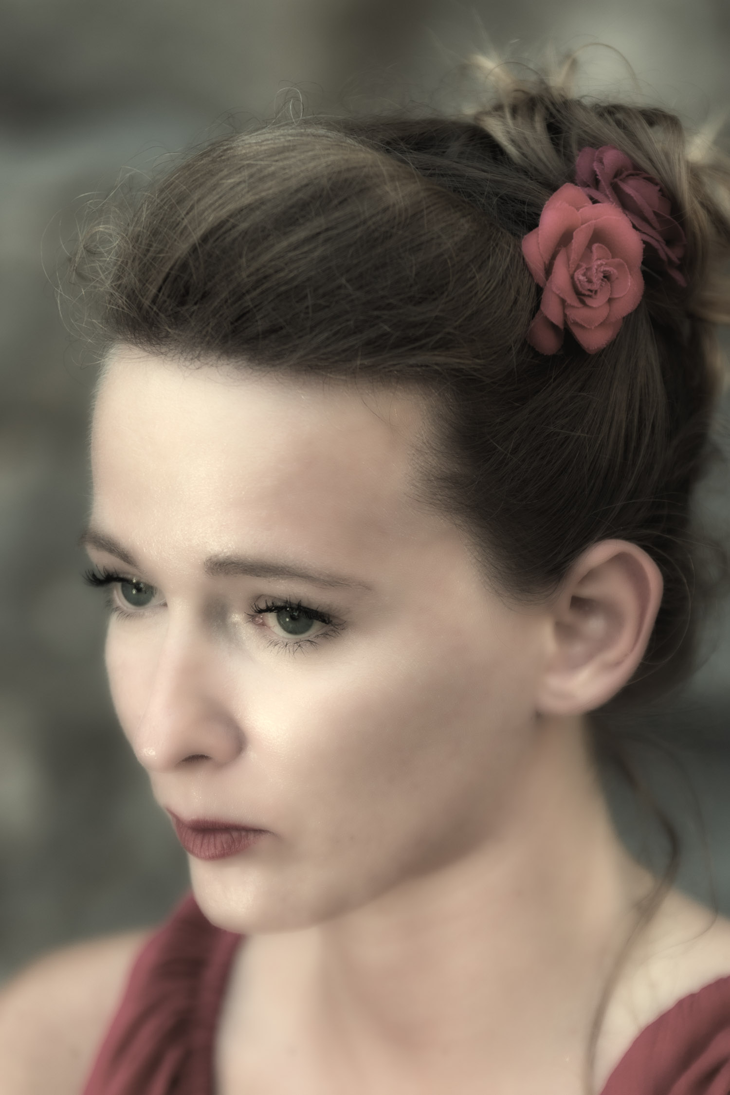 Portrait model (Anita)(D.Skansi Copyright ©)