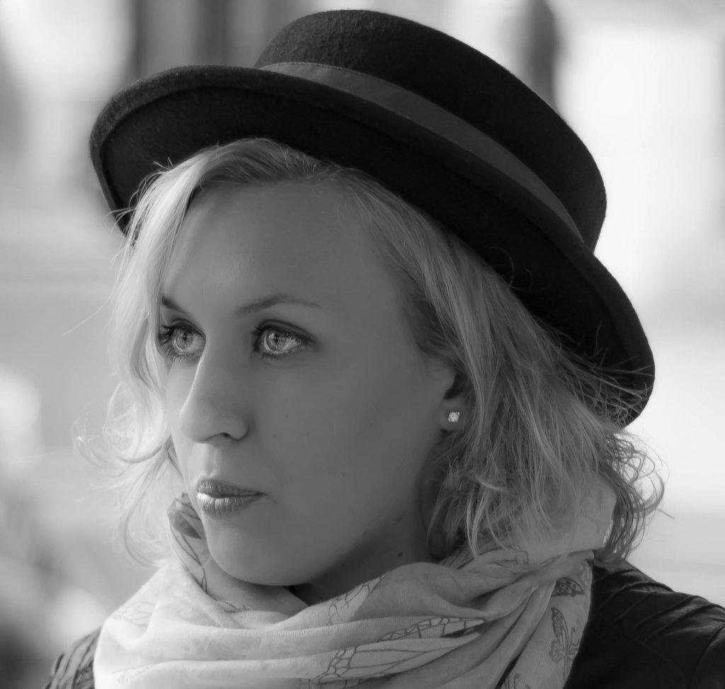 Portrait model (street photography)(D.Skansi Copyright ©)