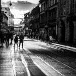 streets of Zagreb b&w  (D.Skansi Copyright ©)